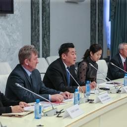 Президент «Яньтай Тунсян Фудс» Чжан ЖУНЬФЭН. Фото Игоря Новикова