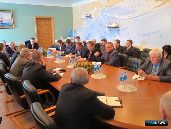 Совещание по рыбному кластеру прошло во Владивостоке