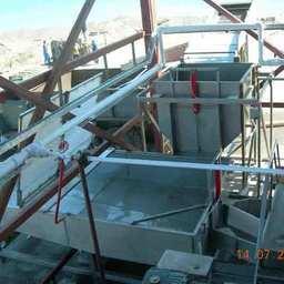 Бункер-водоотделитель, весовой и приемный бункер