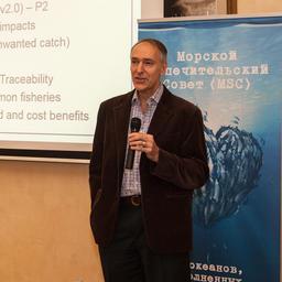 Директор MSC по рыболовству Даниэл ХОГГАРТ