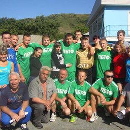 Чемпионы спартакиады – команда ПБТФ