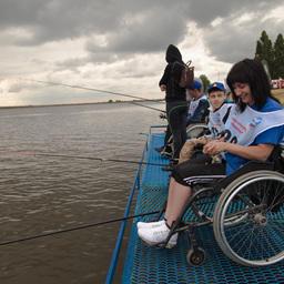 В этот раз в соревнованиях участвовали люди с ограниченными возможностями здоровья
