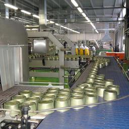 Новый завод позволяет производить 40 тыс. банок за восьмичасовую смену