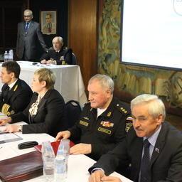 На борту учебно-парусного судна «Седов» открылась конференция «Арктика-2015». Фото пресс-центра МГТУ