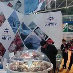 Национальный стенд Российской Федерации привлекал повышенное внимание на China Fisheries and Seafood Expo