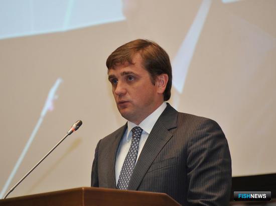 Заместитель министра сельского хозяйства РФ - руководитель Росрыболовства Илья ШЕСТАКОВ