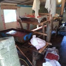 Сотрудники рыбоохраны, полиции и ФСБ ликвидировали браконьерский стан на реке Яма. Фото пресс-службы Охотского теруправления Росрыболовства