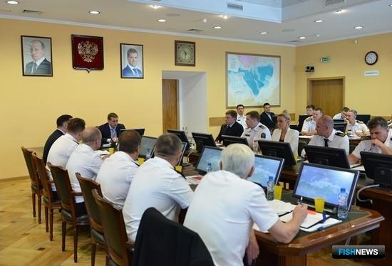 В Федеральном агентстве по рыболовству состоялось всероссийское совещание руководителей территориальных управлений. Фото пресс-службы ФАР