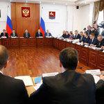 Премьер-министр Дмитрий Медведев провел в Магадане совещание по перспективам рыбной отрасли. Фото пресс-службы Правительства РФ.