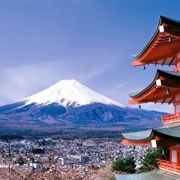 Вид на гору Фудзи. Фото с сайта professormarcianodantas.blogspot.com