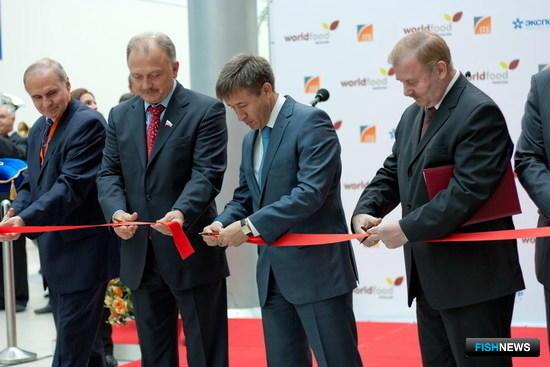 Церемония открытия 20-й Международной выставки продуктов питания и напитков World Food Moscow 2011