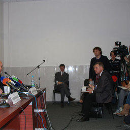 Пресс-конференция руководителя Росрыболовства Андрея КРАЙНЕГО в рамках Международной рыбохозяйственной выставки InterFISH