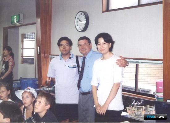 бмен детским отдыхом с японской стороной. Август 1997 г., город Исикава.