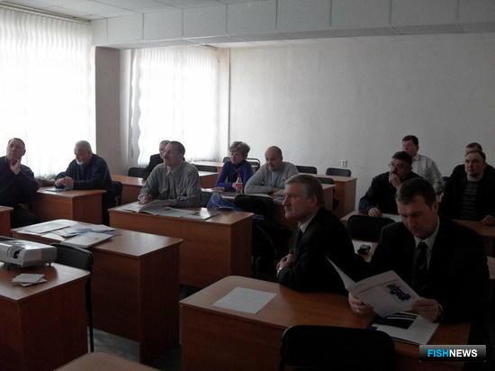 Семинар для руководителей производственных и технических служб рыбодобывающих компаний Магаданской области