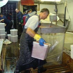 Один из основных видов продукции, которую выпускают БАТМы «Океанрыбфлота» – красная икра