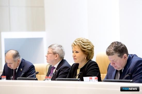 Председатель Совета Федерации Валентина Матвиенко. Фото пресс-центра Совфеда