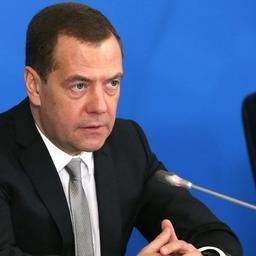 Премьер-министр Дмитрий МЕДВЕДЕВ. Фото пресс-службы правительства