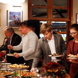 Вечер русской рыбы