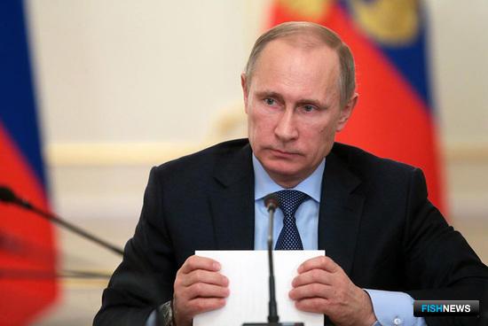 Владимир ПУТИН. Фото с личного сайта Президента РФ.