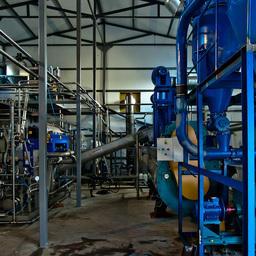 Установка «Альфа Лаваль» по переработке рыбных отходов
