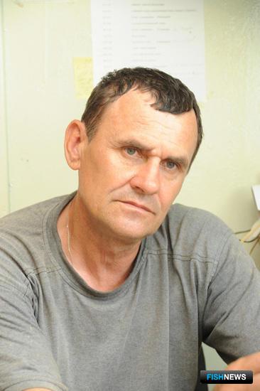 Анатолий ГОРДИЕНКО много лет курирует на предприятии аквакультуру