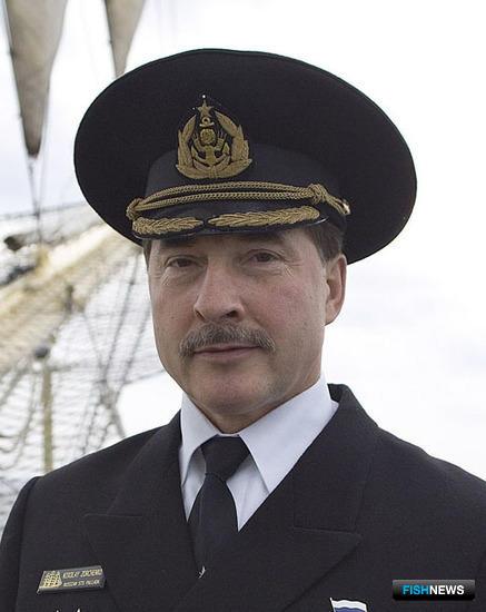 Капитан учебного парусного судна «Паллада» Николай ЗОРЧЕНКО