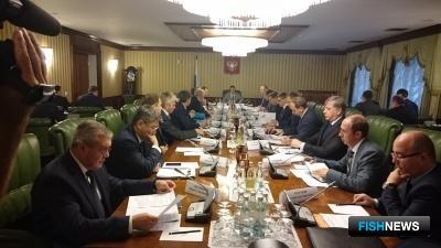 На заседании Организационного комитета ВЭФ обсудили подготовку ко второму форуму. Фото пресс-службы Минвостокразвития