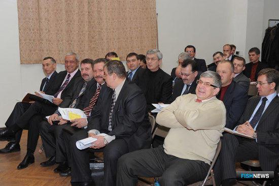 Заседание Дальневосточного научно-промыслового совета