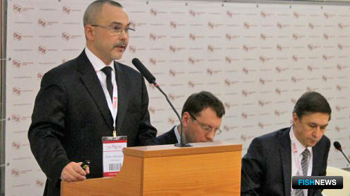 Заместитель главы ФАС Александр КИНЁВ выступил на сессии по антимонопольному регулированию в рамках Гайдаровского форума. Фото пресс-центра ведомства