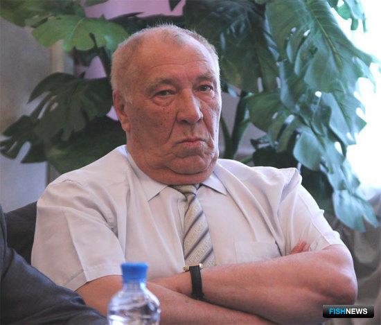 Президент ОАО «Дальрыба» Юрий МОСКАЛЬЦОВ