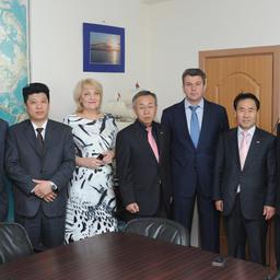 Визит делегации южнокорейского города Донхэ во Владивостокский морской рыбопромышленный колледж