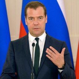 Премьер-министр Дмитрий МЕДВЕДЕВ. Фото пресс-службы Правительства РФ.