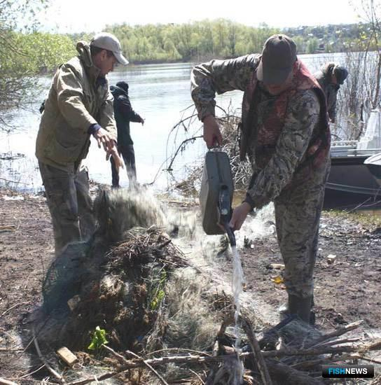 Рейды на реках Самарской области