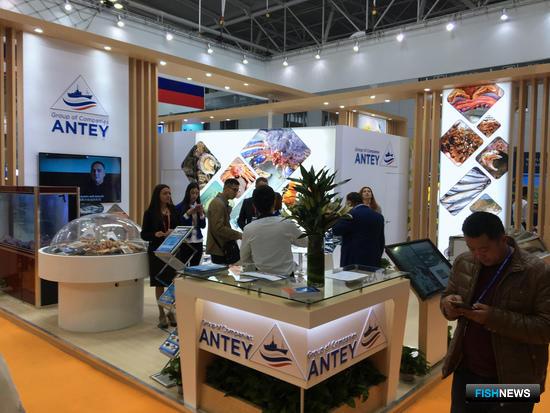 Группа компаний «Антей», участник российского объединенного стенда на рыбохозяйственной выставке в Циндао China Fisheries and Seafood Expo-2017