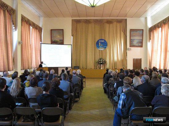 Отчетная сессия Ассоциации «Научно-техническое объединение ТИНРО». Фото Константин Осипов
