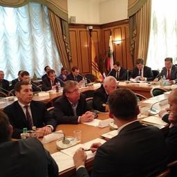 В преддверии заседания президиума Госсовета в Госдуме прошел круглый стол «Настоящее и будущее отечественной рыбной отрасли».