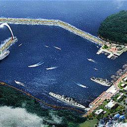 Новый многоцелевой порт в Южной Корее