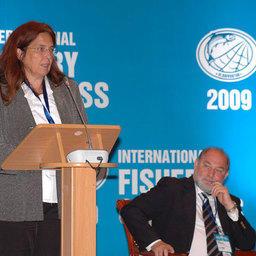 представитель департамента по рыболовству и аквакультуре ФАО ООН Хельга ДЖОЗОПЕЙТ