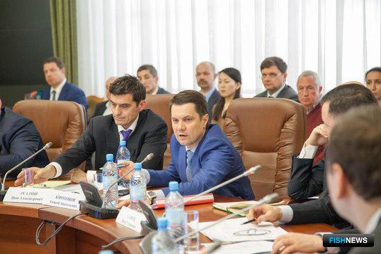 Министр агропромышленного комплекса и торговли Архангельской области Алексей КОРОТЕНКОВ