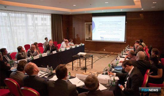 Совещание по вопросам судостроения с участием рыбопромышленников и проектных организаций. Москва, июнь 2011 г.