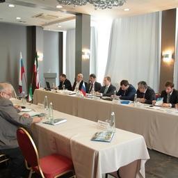 В Астрахани прошла седьмая сессия Российско-Иранской комиссии по вопросам рыбного хозяйства. Фото пресс-службы КаспНИРХ