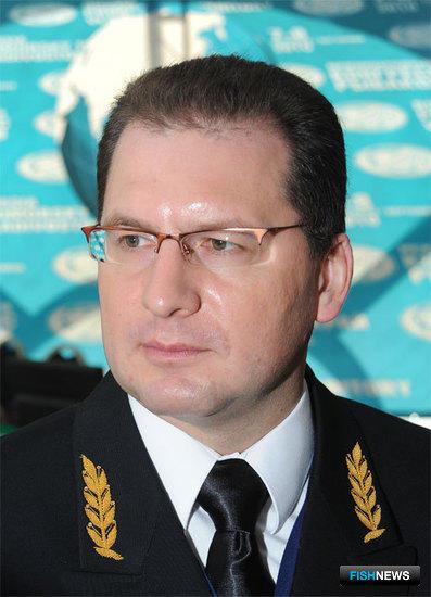 Руководитель Центра системы мониторинга рыболовства и связи Максим Санько