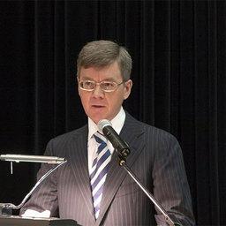 Президент Ассоциации добытчиков минтая Герман ЗВЕРЕВ на Коллегии Росрыболовства
