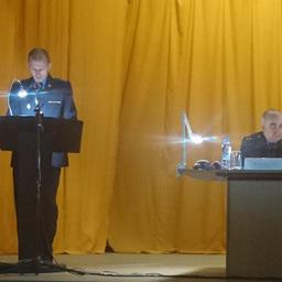 Начальник Пограничного управления ФСБ России по Сахалинской области Сергей КУДРЯШОВ провел совещание с представителями отрасли