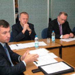 Президент ассоциации Игорь Евтушок и вице-президент Григорий Абовский