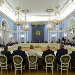 Заседание Правительственной комиссии по вопросам агропромышленного комплекса и устойчивого развития сельских территорий. Фото пресс-службы кабмина