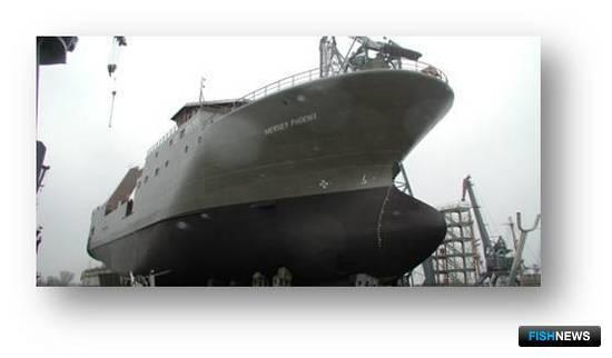 Рис.3 - Арктический траулер пр. NVC-371, длина – 70,6 м