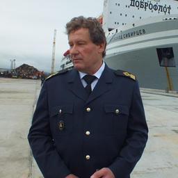 Капитан-директор плавзавода Федор Альбрандт