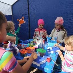 Для детей проводили мастер-классы. Фото пресс-службы правительства Камчатки