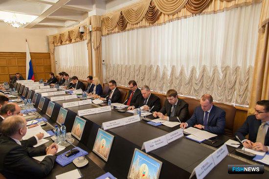 Заседание коллегии Минсельхоза России по вопросам аквакультуры